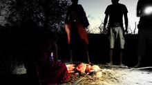 Visitar un poblado Masái durante un safari