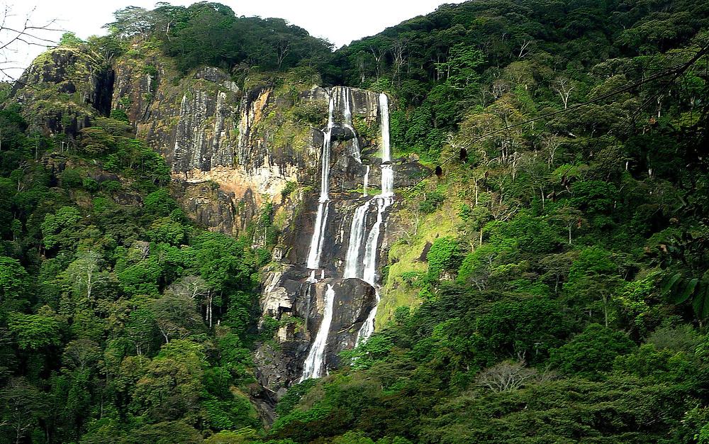 Cascadas de Sanje en las Montañas Udzugwa