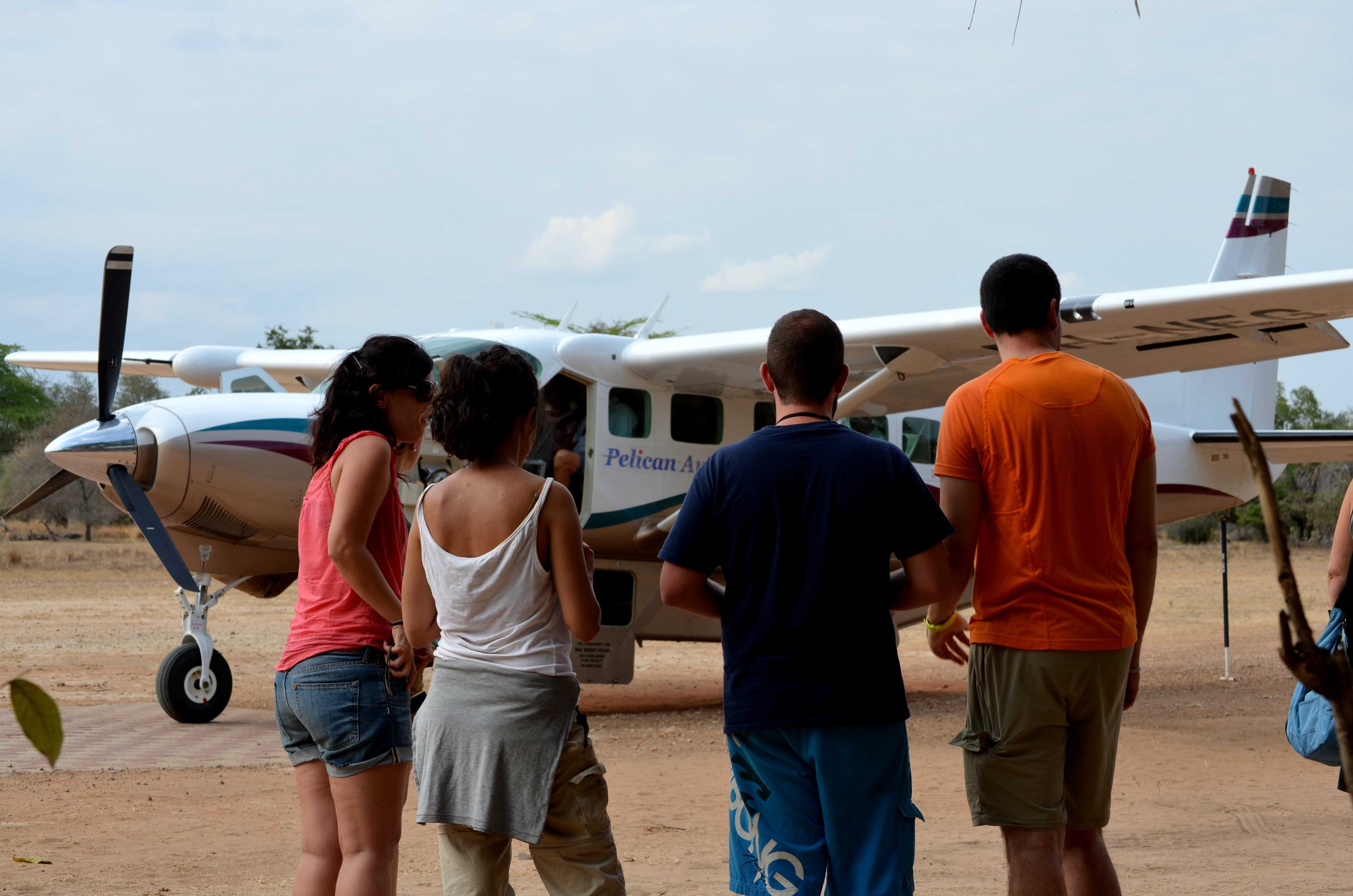 Safaris en avioneta