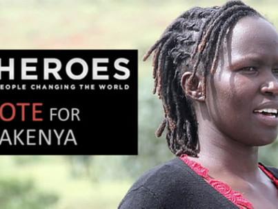Kenyan woman in top 10 for prestigious CNN Hero award
