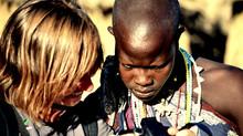 De maasais y esqueletos andantes en Tanzania. Por Nadia Kolotushkina