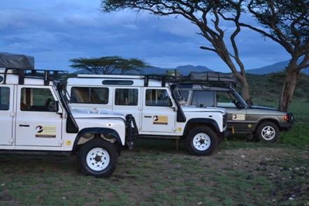 Alquiler de todo terreno en Tanzania