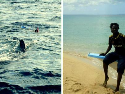 Reinventarse en África entre ballenas jorobadas y tiburones ballena.