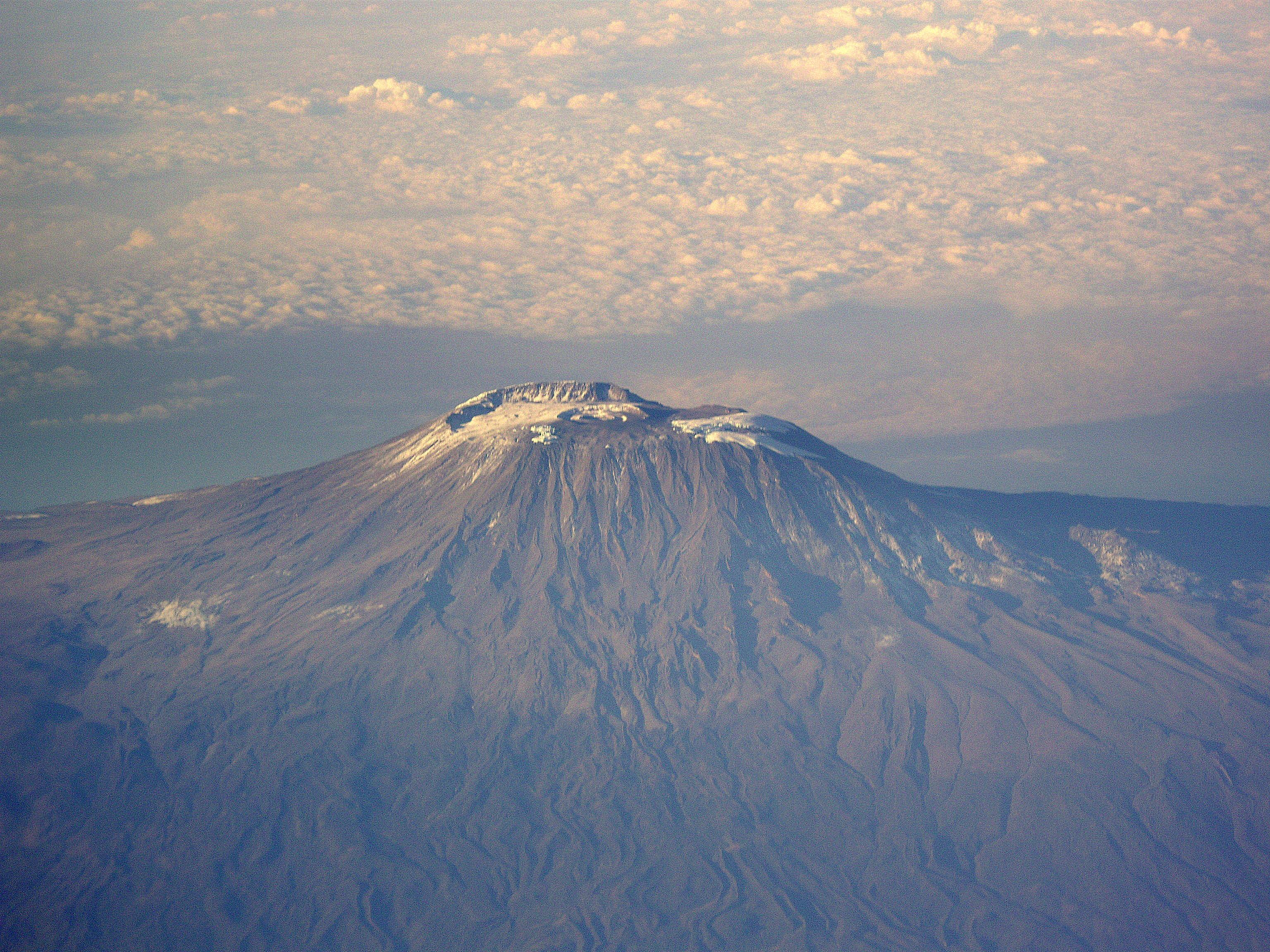 ascenso al Kilimanjaro