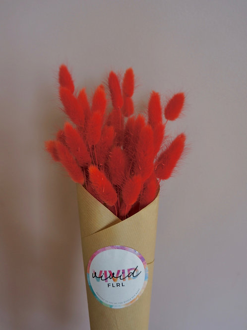 Red Bunny Tails