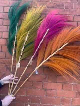 Feather Grain Grass Palms