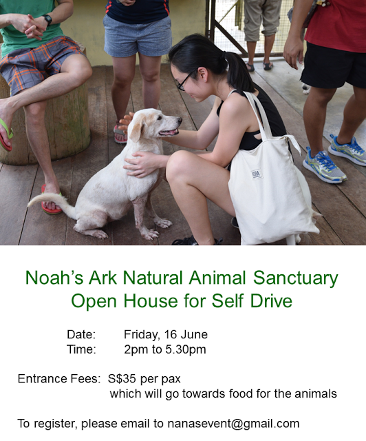 NANAS Open House for Self Drive: Friday, 16 June