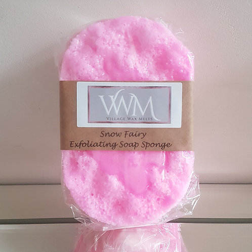Snow Fairy Exfoliating Soap Sponge