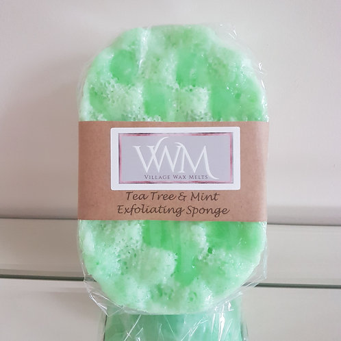 Tea Tree & Mint Exfoliating Soap Sponge