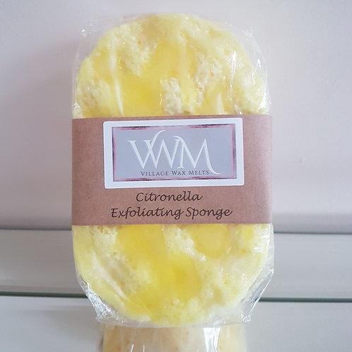 Citronella (Mosquito Repellant) Exfoliating Soap Sponge