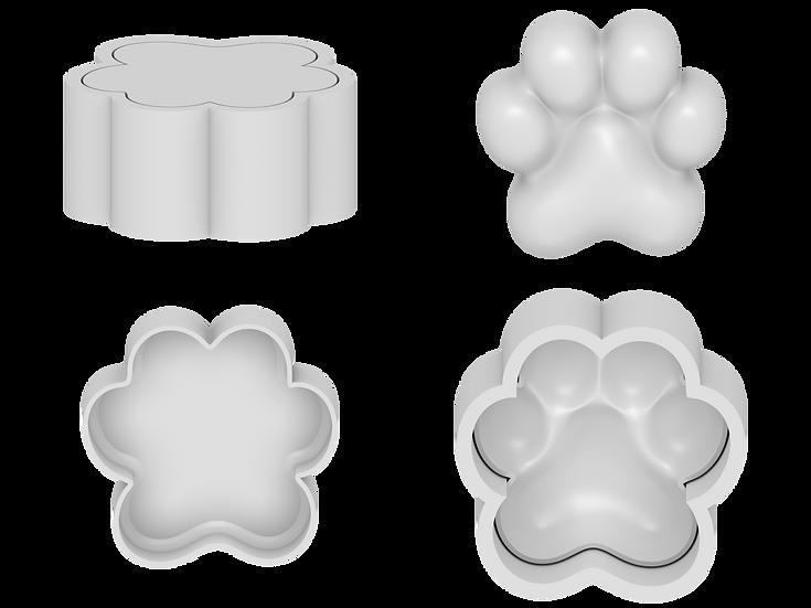 Paw Print Mold File