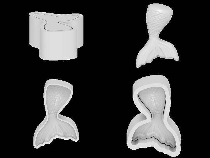 Mermaid Tail Mold File