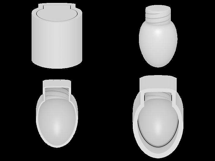 Christmas Lightbulb Mold File
