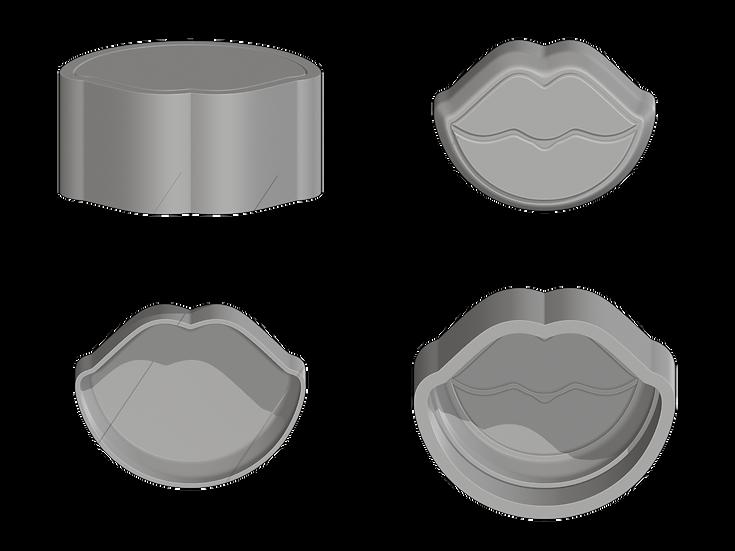 Lips (flat) Mold Files