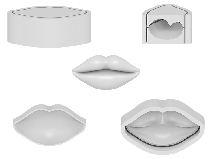 Lips Mold File
