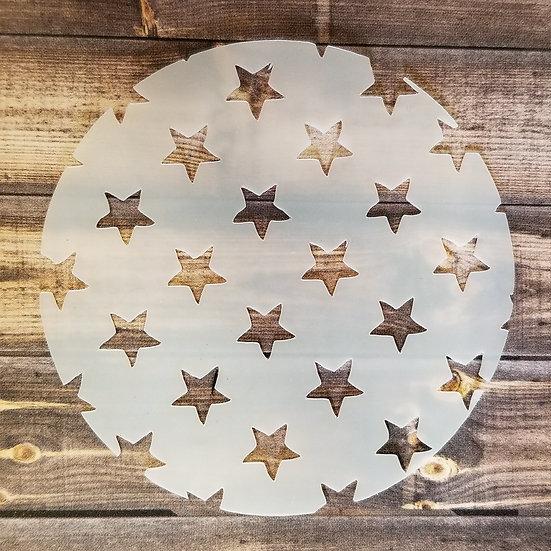 Stars Stencil