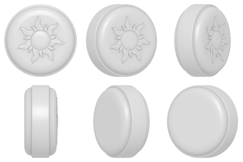 Sun Puck Mold Files