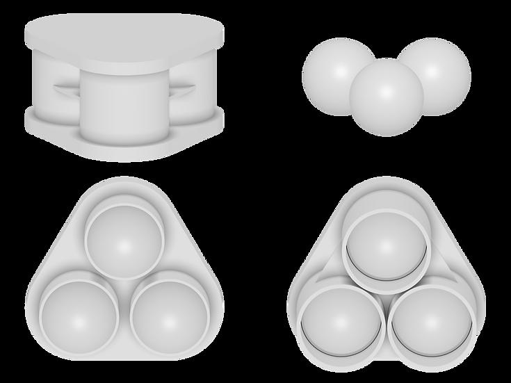 3 Multi Ball Mold Files