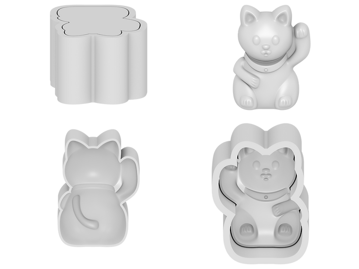Lucky Cat Mold File