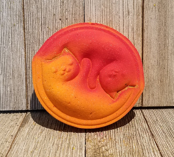 Cats 3pc Bathbomb Mold 4.5oz