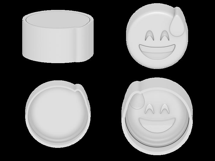Nervous Emoji Mold Files