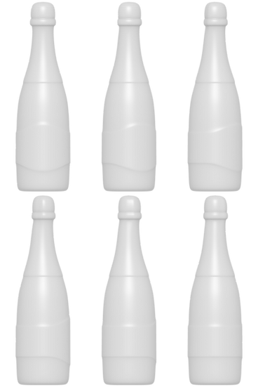 Champagne Bottle Mold Files