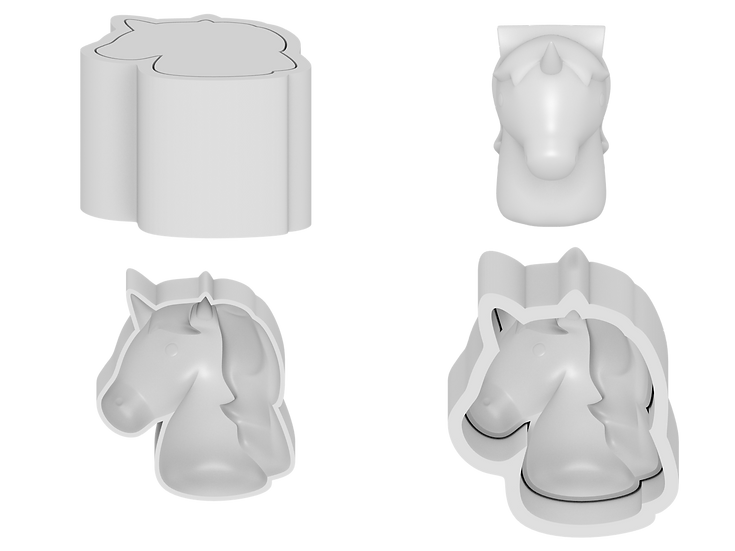 Unicorn Mold Files