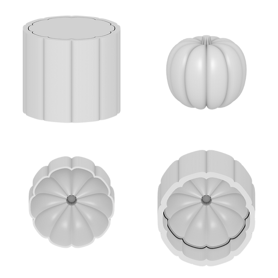 Pumpkin Mold File