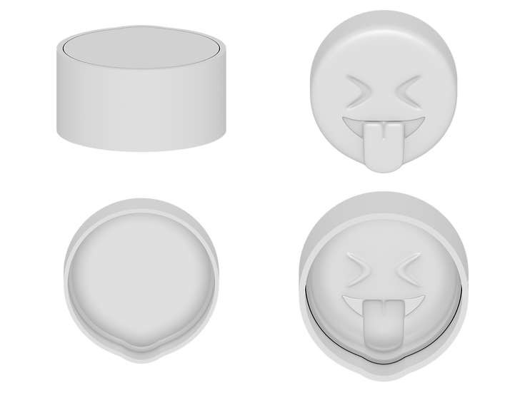 Laughing Emoji Mold Files