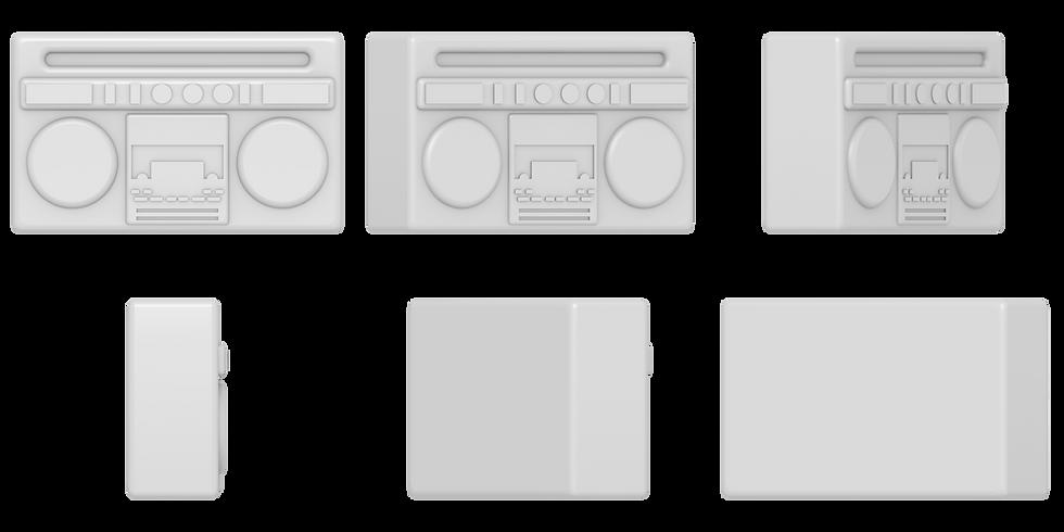 boombox mold files
