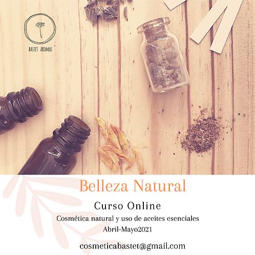 CURSO BELLEZA NATURAL, online 2021