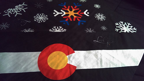Colorado Flake & Flag Bandana