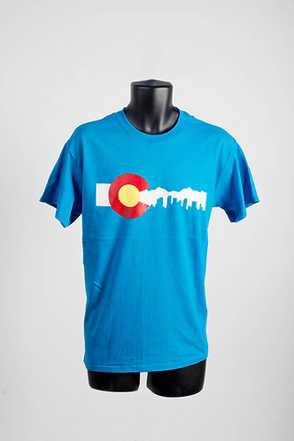 2D Skyline Tee (4 Colors)