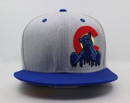 Blue Bear Snapback Hats