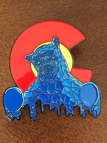 Big Blue Bear (convention center) Pins