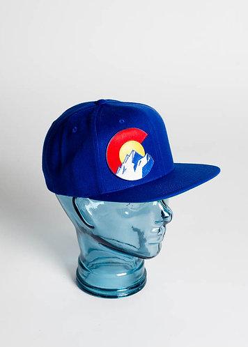 Colorado Mountains C Snapback Hat