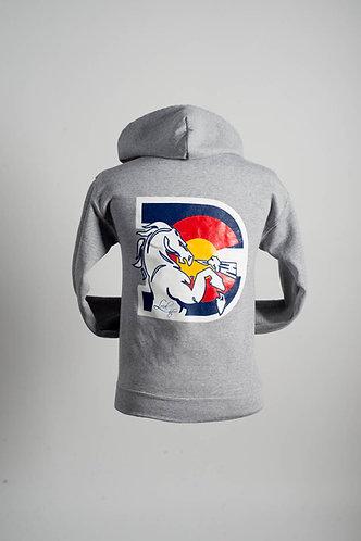 Broncos Zip Hoodie (2 Colors)