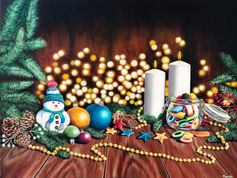 Sparkling warm wishes