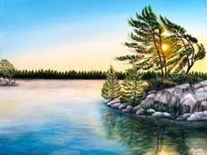 Blissful sundown