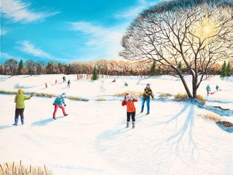 Fun triumphs over winter