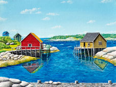 Colourful neighbourhood