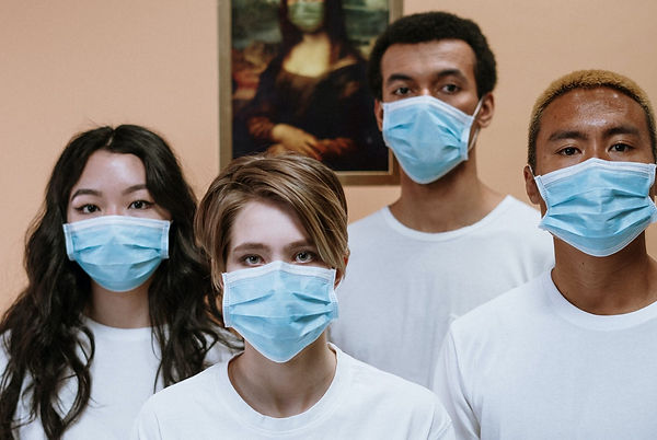 people-wearing-face-mask-for-protection-