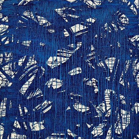 7. histoire de bleu(180103). 100x100cm.