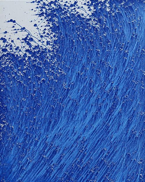13. histoire de bleu(200603). 162x130cm,