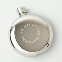 It's Five O'Clock Somewhere... Travel Flask (5 oz.)