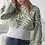 Thumbnail: Zebra Print Boatneck Sweater