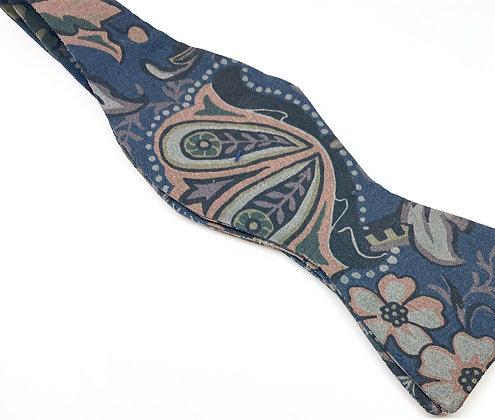 Custom Made Midnight Blue Paisley
