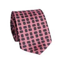 Pink Barrel Age Tie
