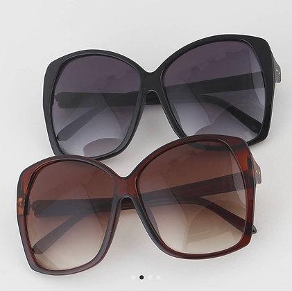Oversized Rectangle Sunglasses