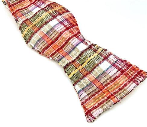 Custom Made Madras Bowtie